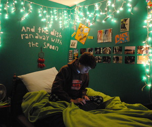 bedroom, boy, and photography image