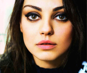 Mila Kunis and eyes image