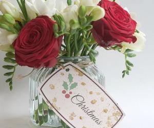 christmas, diy, and flowers image