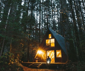 aesthetic, home, and cabin image