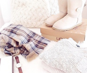 sweater, fashion, and boots image