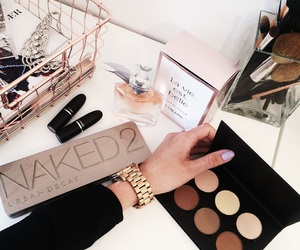 makeup, contour, and style image