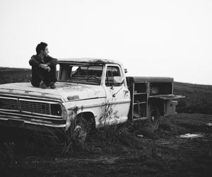 boy and car image