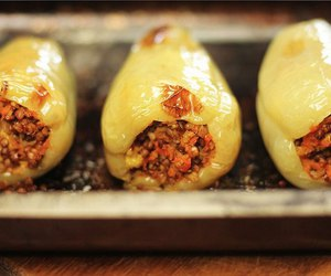 stuffed peppers and lacto image