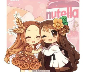 nutella, anime, and kawaii image