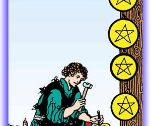 eight of pentacles image