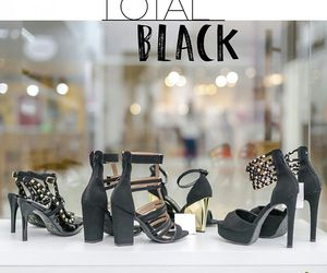 black, moda, and shoes image