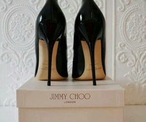 shoes, Jimmy Choo, and black image