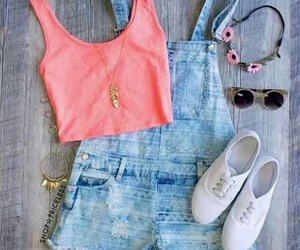 outfit, style, and summer image