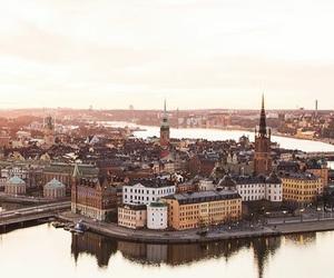 stockholm, travel, and sweden image
