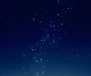 blue, shining, and starry sky image