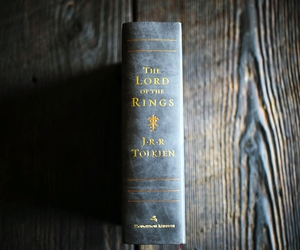 book, fantasy, and lord of the rings image