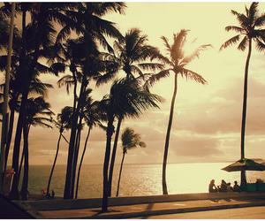 sun, beach, and love image