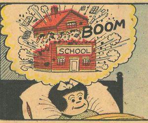 school, boom, and Dream image