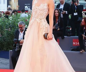dress, she, and red carpet image