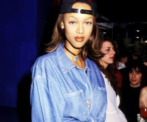 90s and tyra banks image