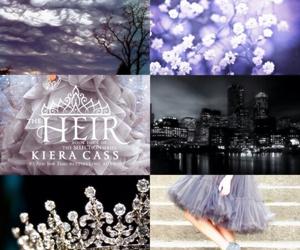 book, kiera cass, and the heir image