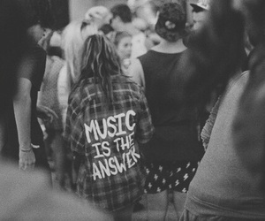 music, answer, and grunge image