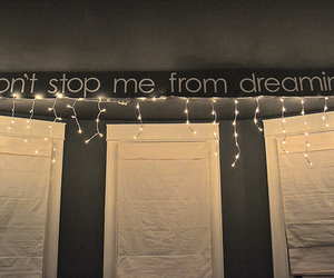 dreaming, lights, and quote image