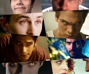 derek, eyes, and teen wolf image