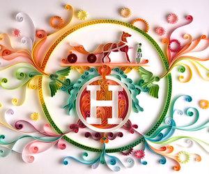 graphic design, yulia brodskaya, and paper illustration image