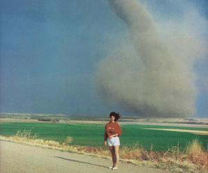 tornado, nature, and vintage image