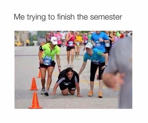 semester, funny, and school image