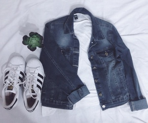 adidas, plants, and style image