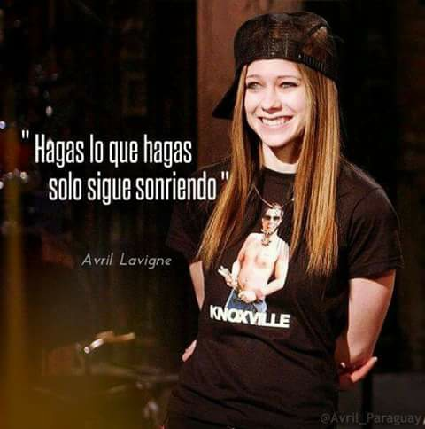 Image About Avril Lavigne In Frases By Itiel