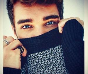 blue eyes, guy, and boy image