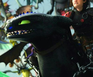 toothless and dragons image