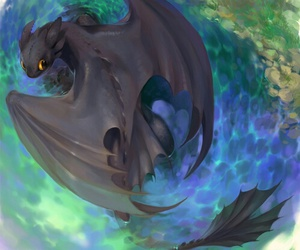 animation, dragons, and movies image