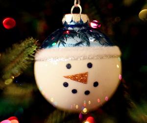 christmas, lights, and ornaments image