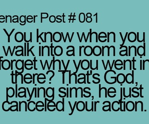 sims, teenager post, and god image