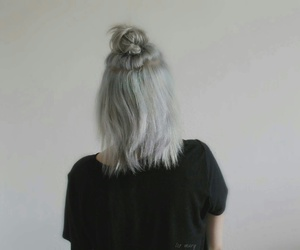 directions, grey, and white hair image