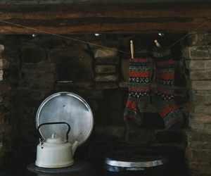 kettle, winter, and kitchen image