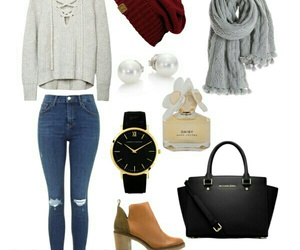 christmas, clothes, and fall image