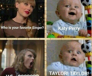 Taylor Swift, funny, and katy perry image