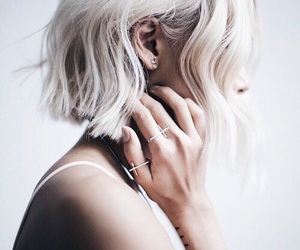 'hair', 'white', and 'aesthetic' image