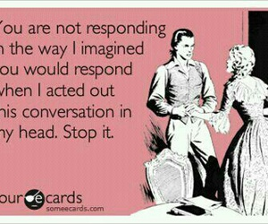 funny, ecards, and conversation image