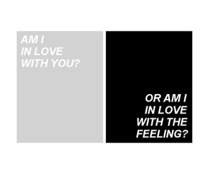 feelings, Lyrics, and Or image