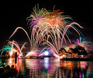 fireworks, photography, and colorful image