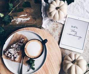 coffee, pumpkin, and autumn image
