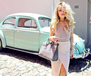 blonde, cape town, and curly hair image
