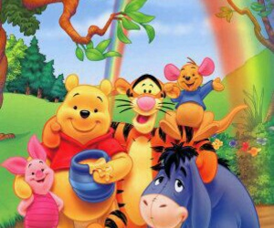 disney and pooh image