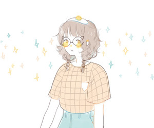 anime, drawing, and manga image