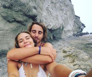 beach, love, and bikini image