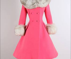 1960s, pink, and vintage fashion image
