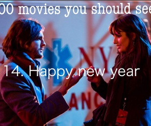 couple, happy new year, and movie image