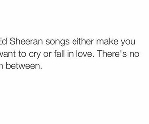 ed sheeran, love, and cry image